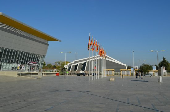 Sport Center Boris Trajkovski: Swimming pool