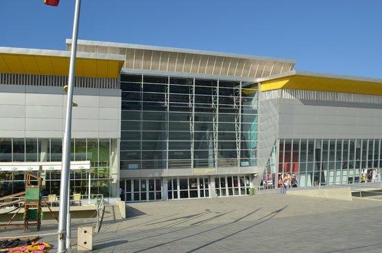 Sport Center Boris Trajkovski: Side doors