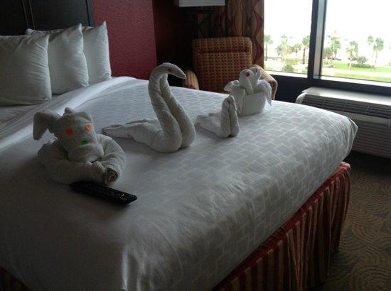 Pier House 60 Marina Hotel: A nice touch