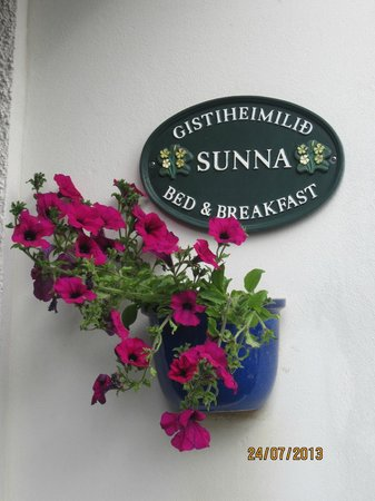 Guesthouse Sunna: Welcome!