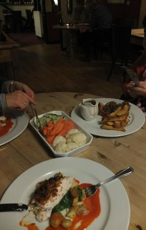 The Bell Inn at Iden: catch of the day