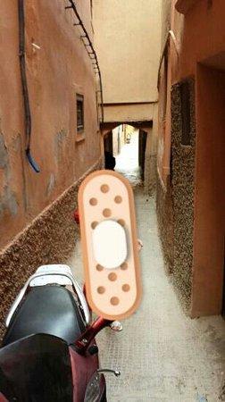 Riad Danka : la rue qui mène au ryad