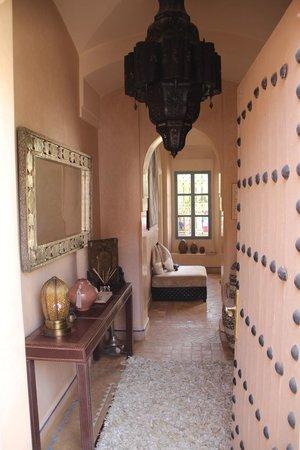 Villa d'Akhdar : entrée de la villa