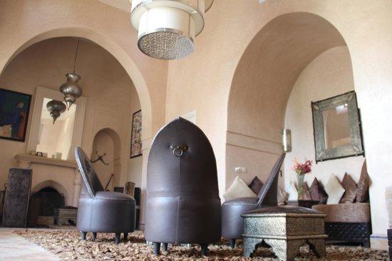 Villa d'Akhdar : le salon