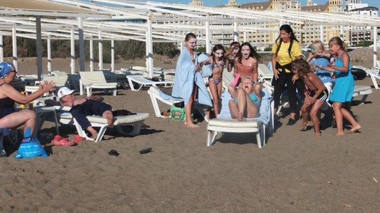 Kervansaray Hotel Kundu: Kids having fun