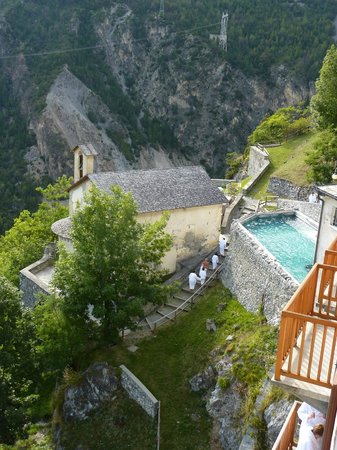 Hotel Bagni Vecchi: Room with a view