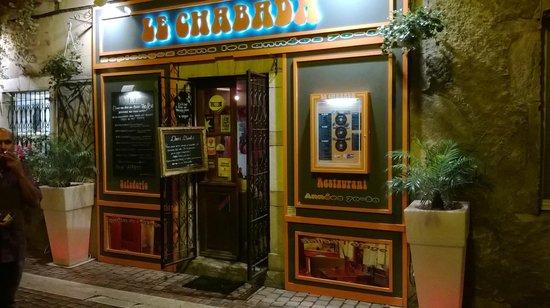 Le Chabada : devanture très attirante