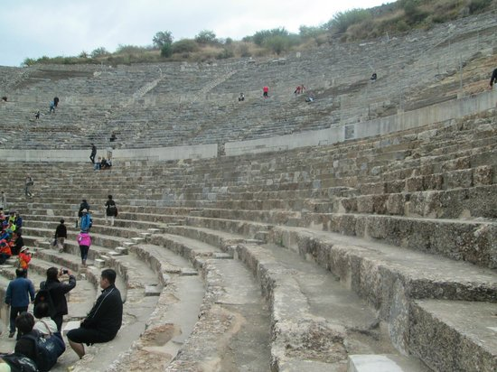 Antigua ciudad de Efeso: The stadium