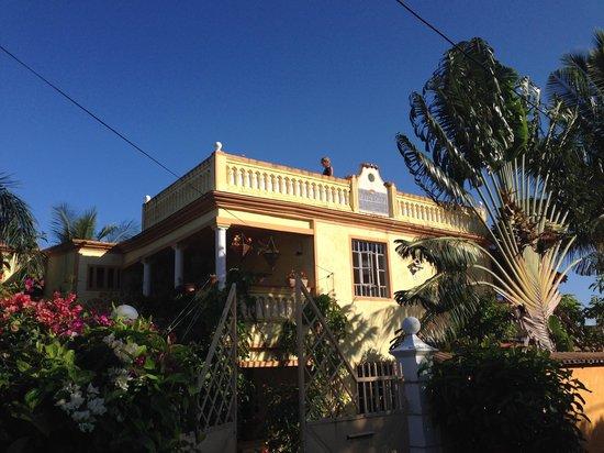 La Reine Creole B & B: unsere Dachterrasse