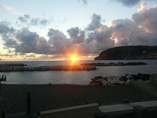 Park Hotel & Terme Romantica: Il tramonto a Sant'Angelo