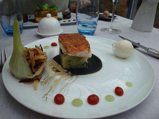 La Maison du Prussien: le plat