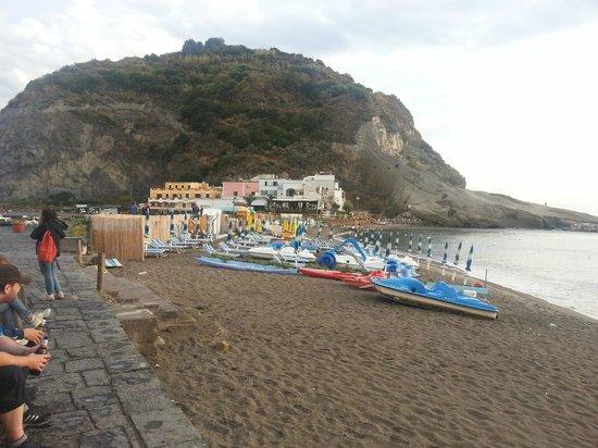 Park Hotel & Terme Romantica: Spiaggia di Sant'Angelo