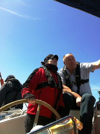 Carbery Sailing: Steering a good course.