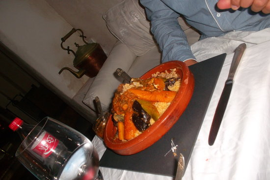 Riad Malaika : couscous poisson : copieux et excellent !