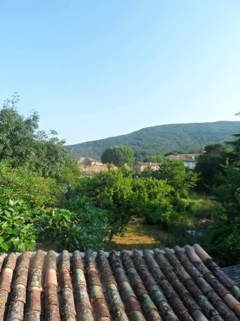Les Marguerites : View from the bedroom
