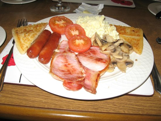 Fairylands Country House: Full Irish breakfast was delicious