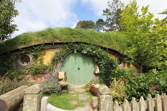 Bush and Beach: Hobbit Hole