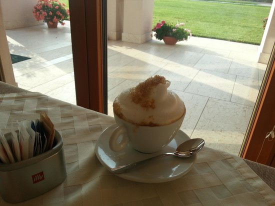 Agriturismo Ca'Giulietta: cappuccino eccellente
