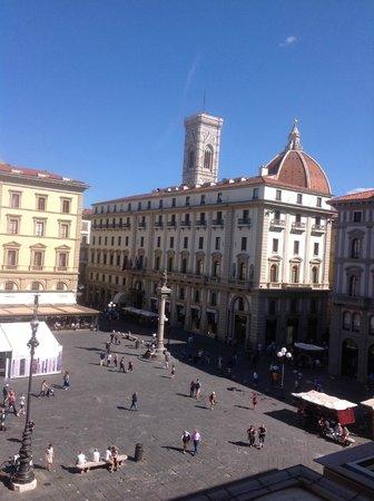 La Dimora del Centro: View of Duomo from Green Room