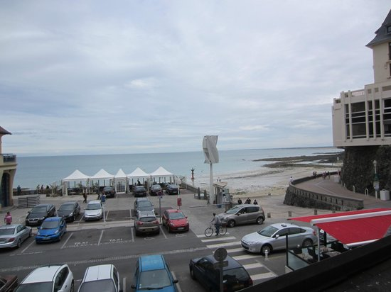 Hotel des Bains: View from the room 2