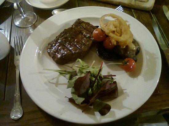 Crown and anchor: Rump steak