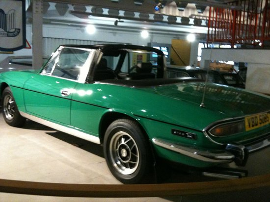 Coventry Transport Museum : Triumph Stag