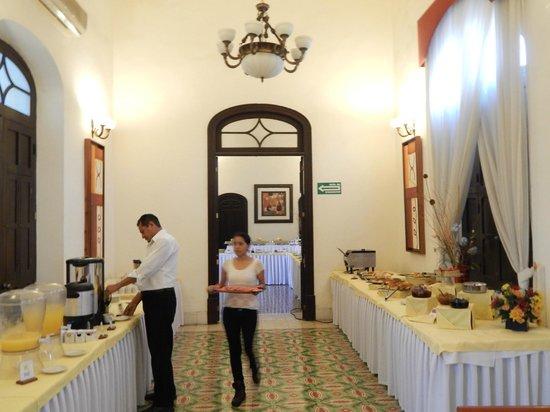 Gran Real Yucatan: Buffet