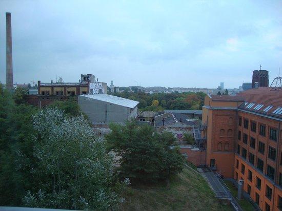 NH Berlin Alexanderplatz: View from rear rooms