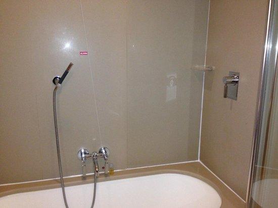 Hilton Garden Inn Florence Novoli : Shower and tub controls
