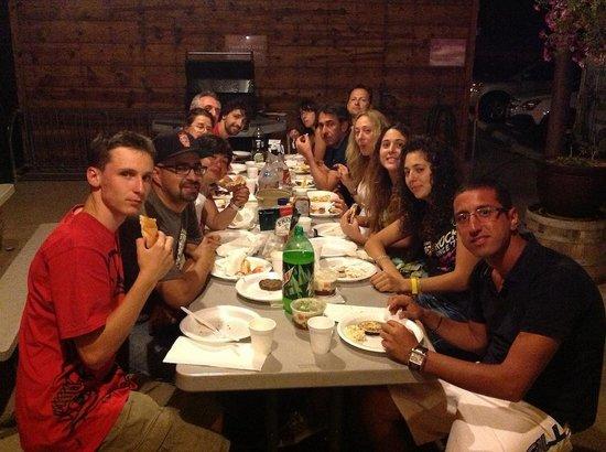 Red Stone Inn : Cena di gruppo