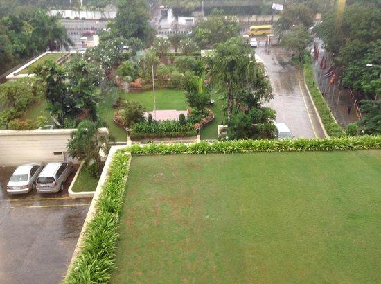 ITC Kakatiya: view from the room