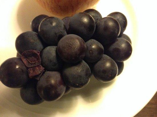 ITC Kakatiya: Poor grapes