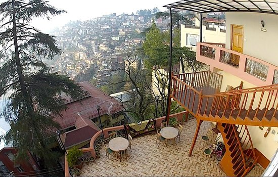 Hotel Rock Sea: Great view of Shimla from the Rock Sea