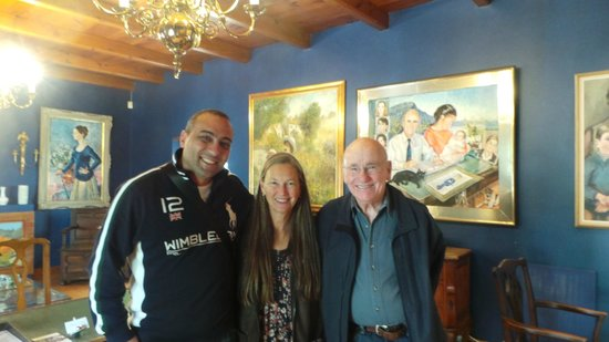 Akademie Street Boutique Hotel and Guest House: With Arthur & Catherine