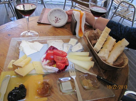 Le Volpi e L'Uva : Selection of 5 Italian cheeses
