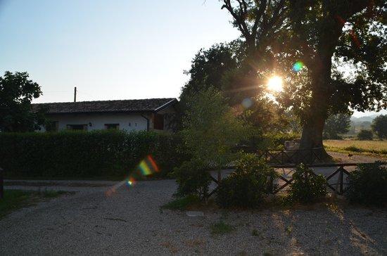 La Casa Nella Prateria : Wir waren die einzigen Gäste und haben die Abgeschiedenheit sehr genossen.