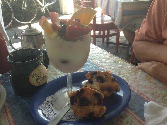 Over Easy Café: petit dejeuner