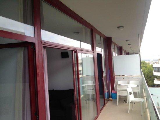 Four Elements Suites: Balcony