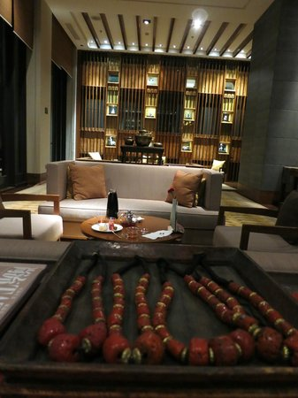 St. Regis Lhasa Resort: tea room