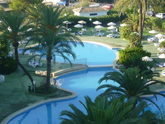Eix Lagotel: Une partie des piscines de l'hôtel