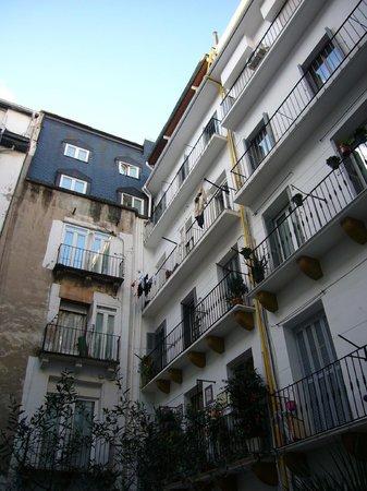 Hotel Zaragoza Plaza: vista desde la hab