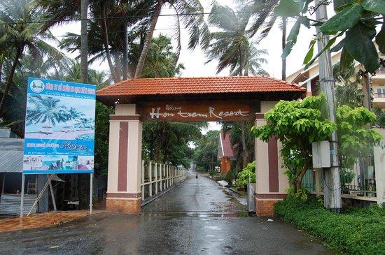 Hon Trem Resort & Spa : Entrance