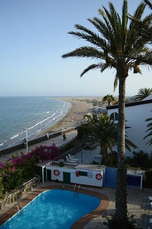 San Nicolas: View from the rooftop terrace