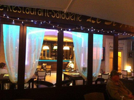 Le st André restaurant classe le soir