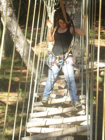Diver Parc Ludic : puentes y tirolinas 2