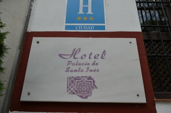 Palacio de Santa Ines: The Palace?