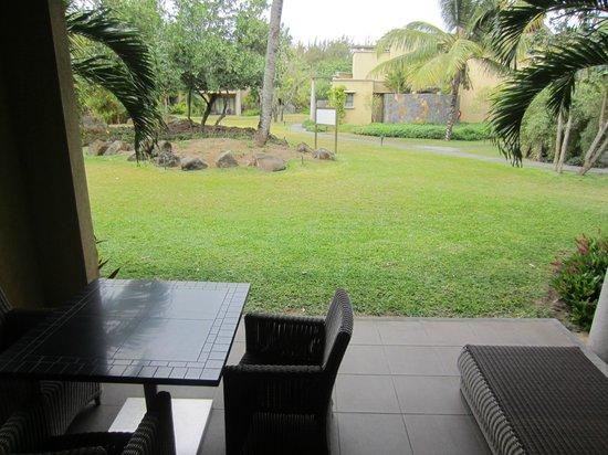 Trou aux Biches Beachcomber Golf Resort & Spa : Room patio