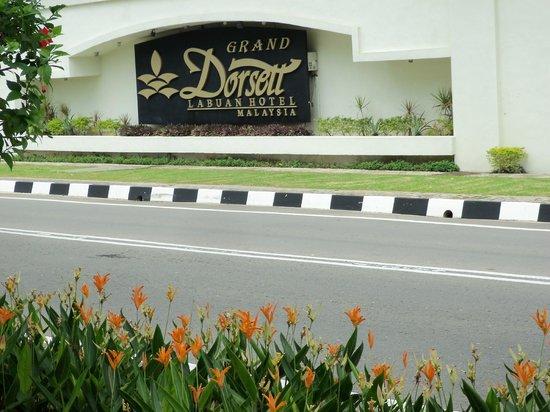 Dorsett Grand Labuan: entrance