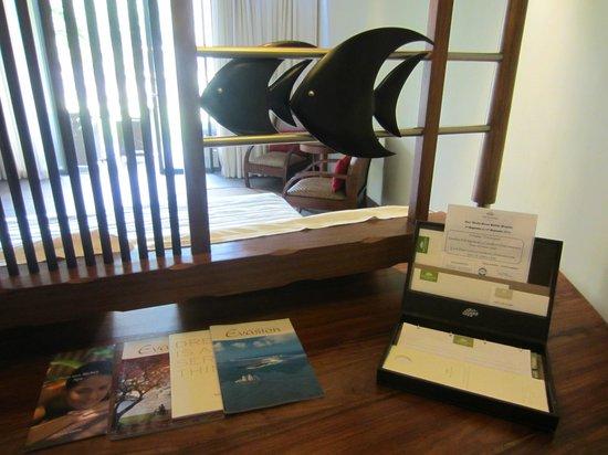 Trou aux Biches Beachcomber Golf Resort & Spa: Desk area