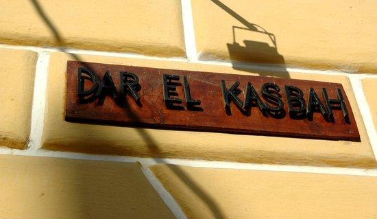 Dar el kasbah : Hotelschild